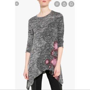 Desigual Size XS Agatha Tunic Sweater